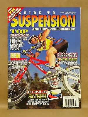Vtg 1996 Sport Cycle Magazine Guide To Suspension Magazine Mountain Bike Racing