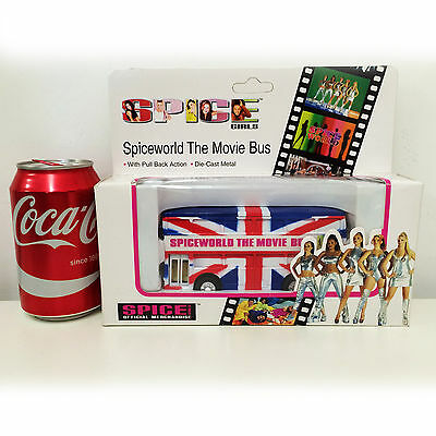 Official Spice Girls Collectable Spiceworld The Movie Bus Girl Power Memorabilia