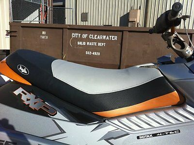 Custom Seadoo 08-09 RXP-X Seat Cover Blacktip