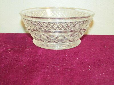 """Antique Elegant Imperial Crystal Cape Cod 5"""" Small Bowl VFC Great Condition"""