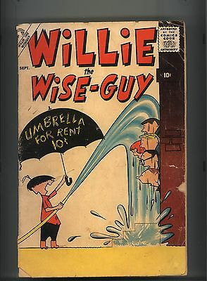 Willie The Wise-Guy #1 Good Scarce Atlas 1957