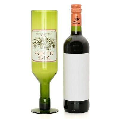 Wine All Mine Glass 750ml 25oz Holds Full Red White Bottle Novelty Drinking Gift