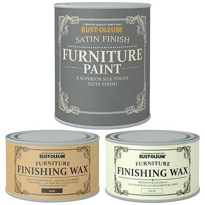 Rust-Oleum Wood Furniture Paint Superior Silk Touch Satin Finish Water Based