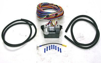 Incredible New Universal 8 Circuit Wire Wiring Harness Street Rat Hot Rod Basic Wiring Cloud Staixuggs Outletorg