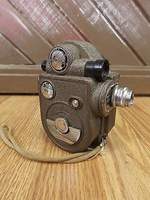 Vtg Revere Eight Model 88 8mm Movie Film Cine Camera