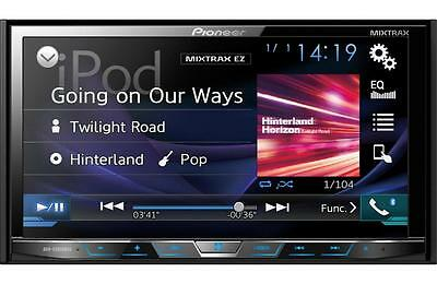 "Pioneer AVH-X5800BHS Double 2 DIN DVD/CD Player 7"" Bluetooth HD Radio Spotify"
