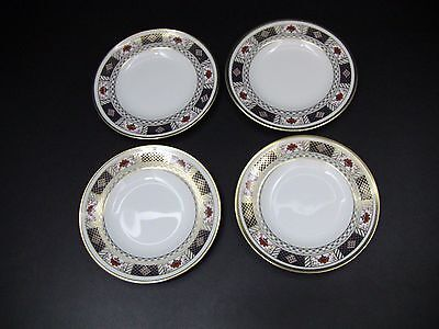 Royal Crown Derby DERBY BORDER Bread & Butter Plates / Set of 4