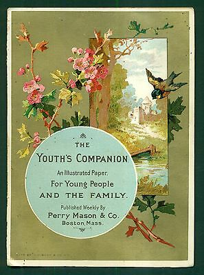 1890's The Youth's Companion Advertising Booklet - Perry Mason & Co. Boston,MA