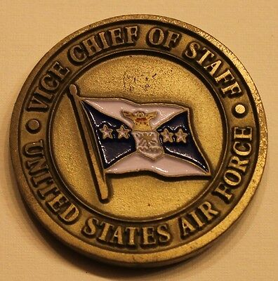Vice Chief of Staff United States Air Force Challenge Coin