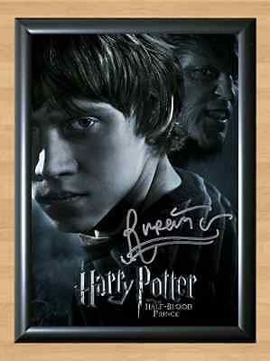 Rupert Grint Harry Potter Ron Weasley Signed Autographed A4 Photo Print Poster