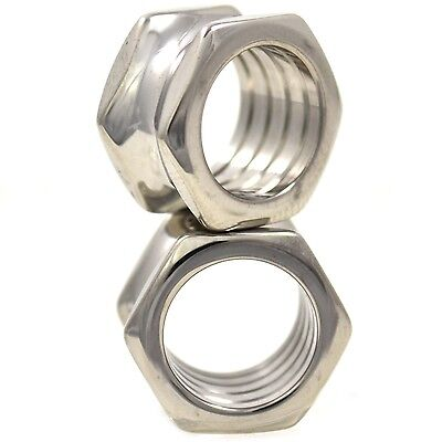 Pair of Stainless Steel Hexagon Screw Fit Flesh Tunnel Ear Plug Gague E8