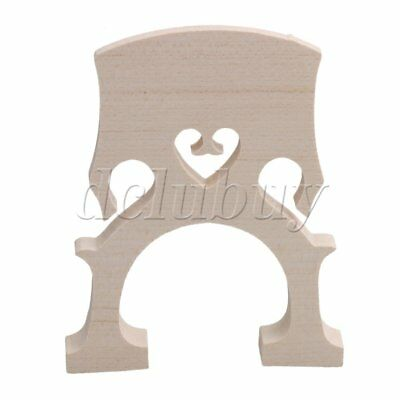 New 4/4 SIZE MAPLE BRIDGE FOR CELLO STRINGS WOOD 4/4