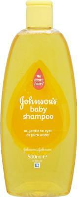 ** 2 X JOHNSONS BABY SHAMPOO NO MORE TEARS NEW ** 500ml