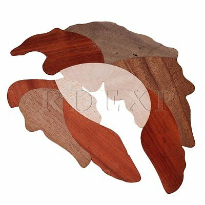 Wood Grape leaf pickguard Scratch Plate for Acoustic Guitar