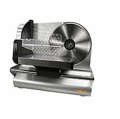 Electric Meat Slicer Cheese Cutter Food Pusher Machine Kitchen Cutting Equipment