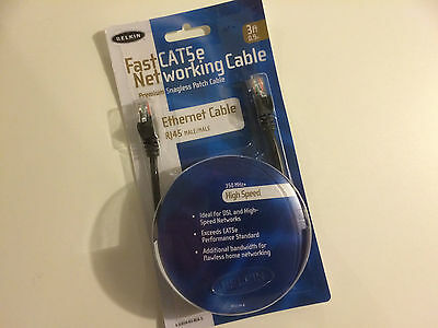Belkin 3-Feet fast CAT5e Snagless Patch Cable