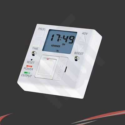 """Combination Socket Box Unit """"On/Off"""" 7 day / 24hr Fused Spur Timer"""
