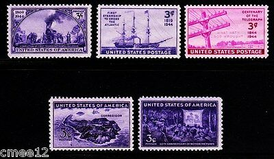 1944 Commemorative Year set (5 Stamps) - MNH