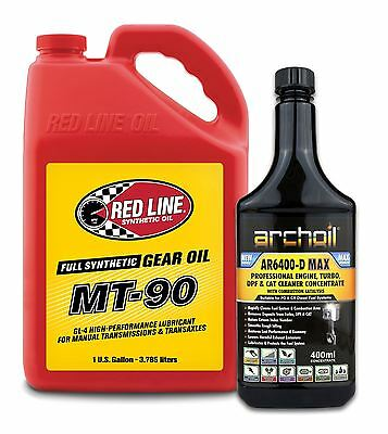 Red Line MT-90 Synchromesh 75W90 Gear Oil US GALLON 3.785 Litres, Nissan, Toyota