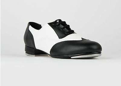 So Danca Spectator Black and White Tap Shoe for Women, NEW