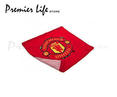 Manchester United FC Face Cloth/Flannel - Red