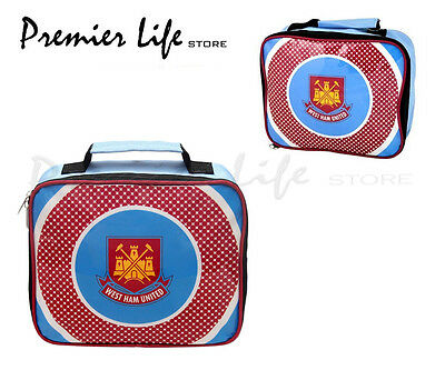 West Ham United FC Lunch Bag - Latest Bullseye Design