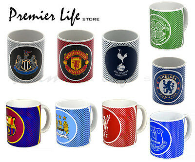 Official Football Mugs Latest Bullseye Design - 11Oz