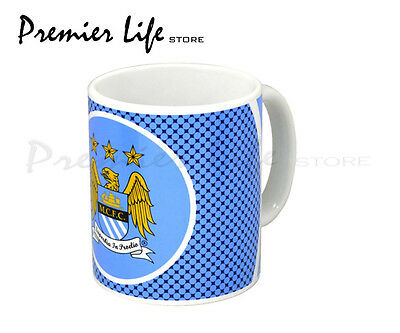 Manchester City FC Mug - Latest Bullseye Design