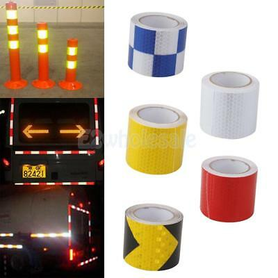 "3m Self Adhesive Reflective Tape 2"" Wide Auto Floor Safety Conspicuity Sticker"