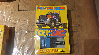 Maquette Heller Cliclac N°2007 « Western Truck ».Sous Blister Tout Neuf