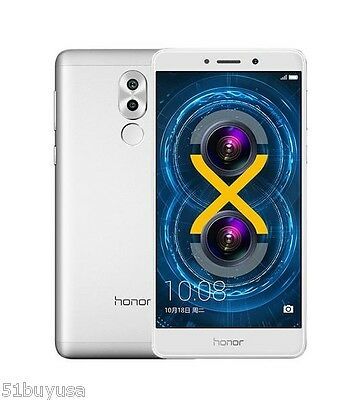 "5.5"" HUAWEI Honor 6X Handy 4G Smartphone Android6.0 Octa-core 3GB+32GB Sbloccato"