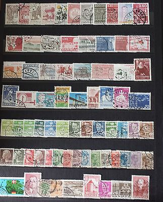 Danemark Lot De Timbres N°3 Obliteres Tous Differents