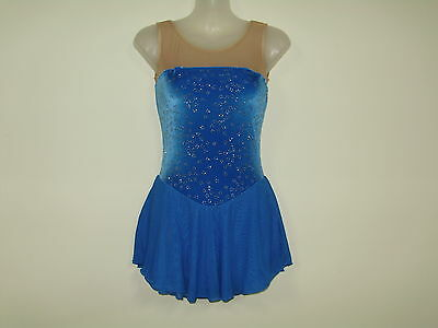 ICE/ DANCE/SKATE COSTUME LADIES xsmall  NEW D.S Designs