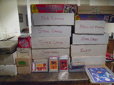 Liquidating Incredible Estate Find Of Vintage Sports Cards Plus Unopened Packs