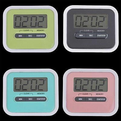 Large LCD Digital Kitchen Cooking Timer Count-Down Up Clock Loud Alarm GT