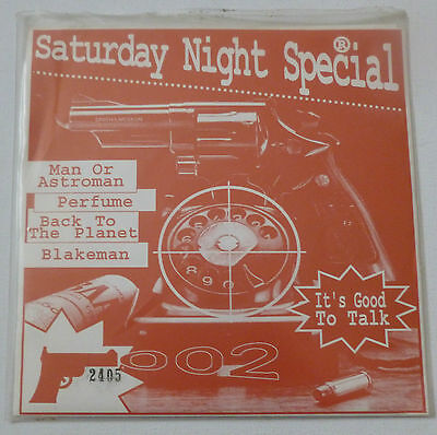 """Saturday night special  UK NUMBERED 7"""" Man or Astroman / Back to the Planet etc"""