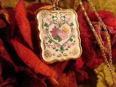 ~Beautiful Heart Of Love Rose Amulet & Spell Scroll~Attract Love~