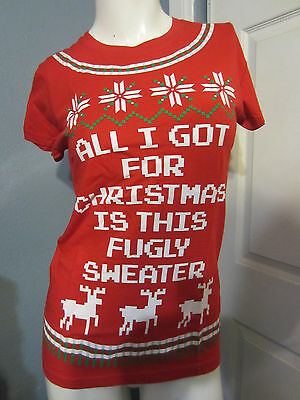 New Hot Topic Ugly Christmas Sweater Kit Size Medium Or Large Black