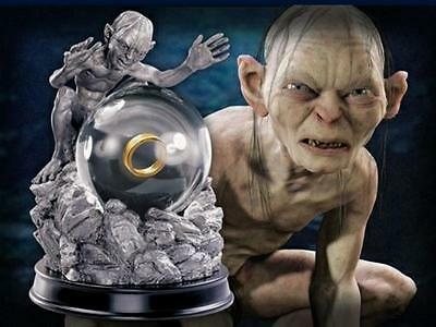Lord Of The Rings ~ My Precious Globe ~ Gollum ~ Porcelain & Fine Pewter ~ New