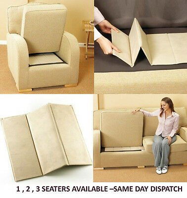 Deluxe Seat Rejuvenator Boards 1-2-3 Seater Sagging Seat Support - 3 Shipping