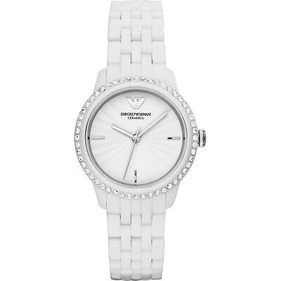 Emporio Armani® watch AR1479 Ladie`s White Ceramica