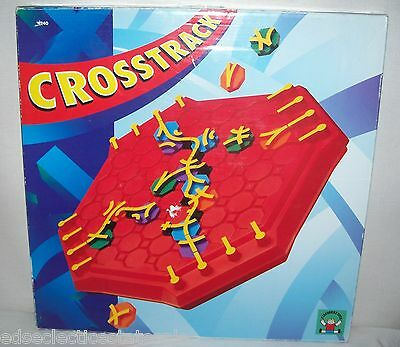 Discovery Toys ©1994 CROSSTRACK Game Complete!
