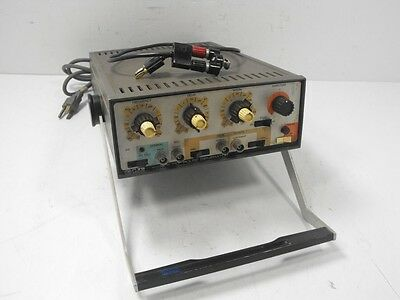 EH Research Labs Gen 70 G710 Pulse Generator w/ HP AC-76A + Cable (Powers On)