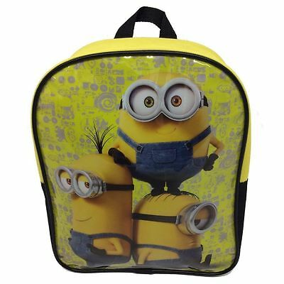 OFFICIAL MINIONS Backpack Kids School / Travel / Holiday Bag NEW