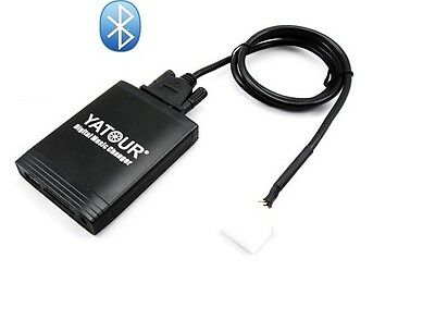 Bluetooth Adapter Mazda 2 3 5 6 MX5 RX8 Radio AUX Interface CD Wechsler USB SDHC
