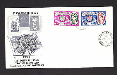 Great Britain 1960 Europa First Day Cover.