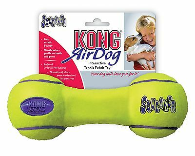 Kong Air Squeaker Dumbbell Toy for Dogs Medium - Play, Fetch, Retrieve