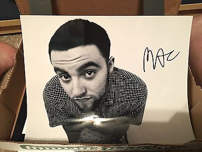 MAC MILLER. SIGNED AUTOGRAPHED 11x14  - Pittsburgh Rapper PROOF!!!