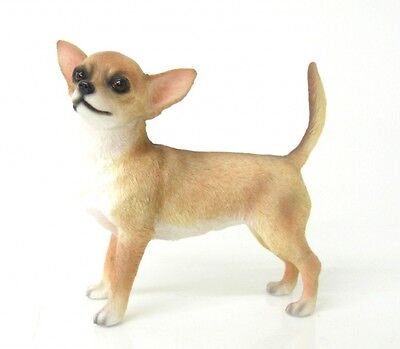 chihuahua smoothcoat ornament figurine collectable leonardo collections gift