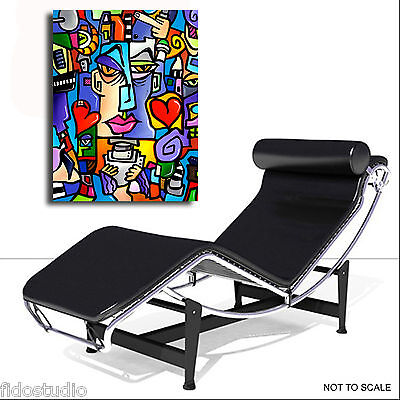 Abstract canvas print Modern Home Decor HUGE Wall Art by Fidostudio